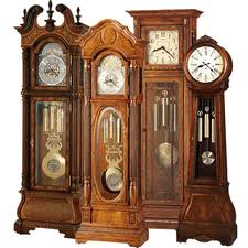 grandfather clock moving south bend