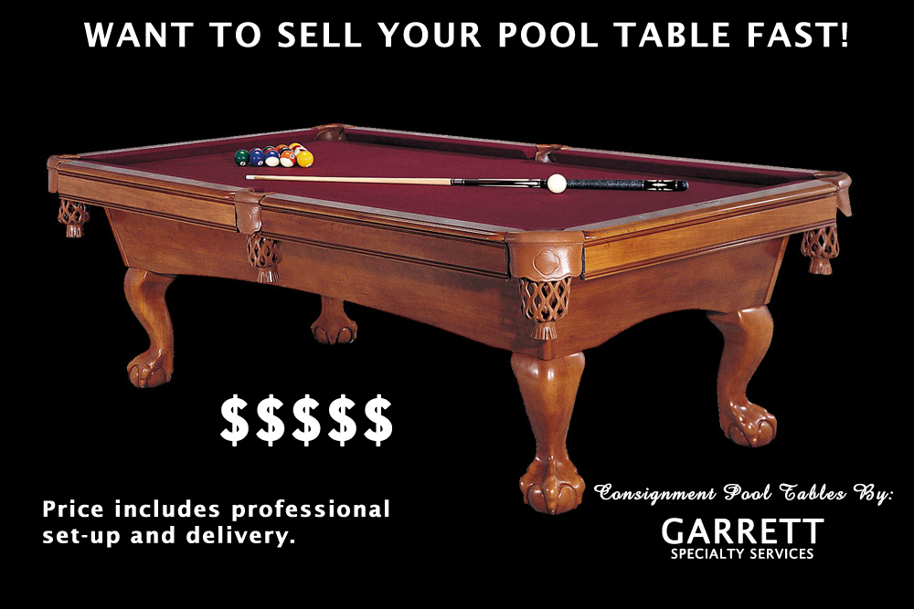 Used Pool Table Fort Wayne Consign Pool TableSell Your Pool Table - Best place to sell pool table